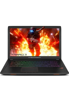 "Asus ROG STRIX FX753VD-GC207 Intel Core i7 7700HQ 8GB 1TB + 256GB GTX1050 Freedos 17.3"" FHD Taşınabilir Bilgisayar"