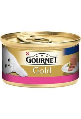 Purina Gourmet Gold Kıyılmış Sığır Etli Konserve Yaş Kedi Maması 85 Gr (1 adet)