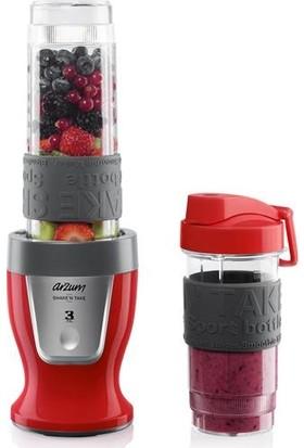 Arzum AR1032 Shake'N Take Kişisel Blender - Kırmızı