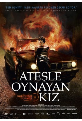 Ateşle Oynayan Kız (The Girl Who Played With Fire) (Blu-Ray)