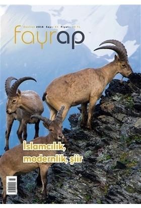 Fayrap Popülist Edebiyat Dergisi Sayı:85 Haziran 2016