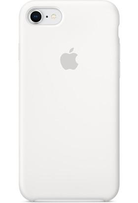 Graytiger Apple iPhone 8 Beyaz Silikon Kılıf Kauçuk Arka Kapak