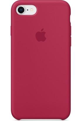 Graytiger Apple iPhone 8 Bordo Silikon Kılıf Kauçuk Arka Kapak