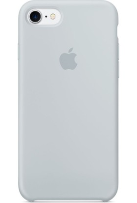 Graytiger Apple iPhone 8 Sis Mavisi Silikon Kılıf Kauçuk Arka Kapak