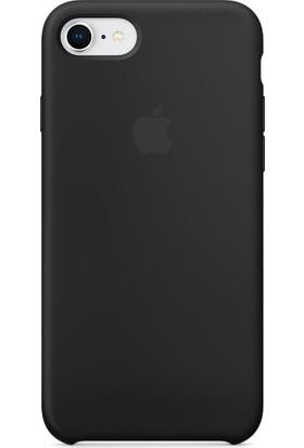 Graytiger Apple iPhone 8 Siyah Silikon Kılıf Kauçuk Arka Kapak