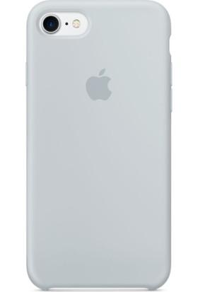 Graytiger Apple iPhone 7 Sis Mavisi Silikon Kılıf Kauçuk Arka Kapak