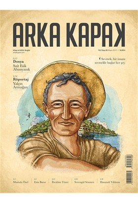 Arka Kapak Dergisi Sayı : 20 Mayıs 2017