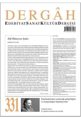Dergah Edebiyat Kültür Sanat Dergisi Sayı: 331 Eylül 2017