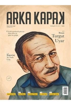 Arka Kapak Dergisi Sayı: 25 Ekim 2017