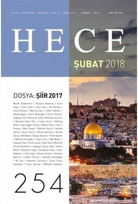Hece Aylık Edebiyat Dergisi Yıl: 22 Sayı: 254