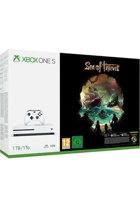 Microsoft Xbox One S Paketi (1TB Xbox One S +Sea of Thieves Oyunu)