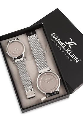 Daniel Klein DK011503H03 Kadın ve Erkek Çift Kol Saati