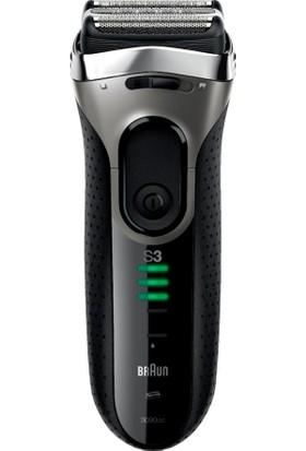 Braun 3 Serisi Tıraş Makinesi 3090CC Temizleme ve Sarj Ünitesi ile