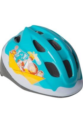 Btwin Bebek Bisiklet Kaskı Açık Mavi