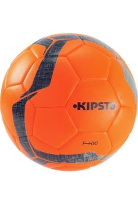Kipsta F100 Hibrit Futbol Topu 5 Numara Turuncu