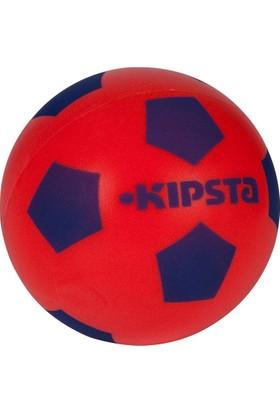 Kipsta Süngerli Futbol Topu 4 Numara Kırmızı - Mavi