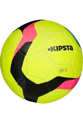 Kipsta Sunny 500 Futbol Topu 5 Numara Sarı - Pembe - Siyah