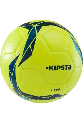Kipsta F500 Hibrit Futbol Topu 4 Numara Sarı - Mavi