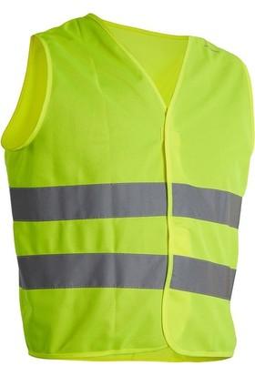 Btwin Bisiklet Yetişkin Güvenlik Yeleği Sarı