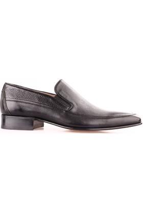 Nevzat Onay Erkek 050 - 046 Kösele Ayakkabı Siyah