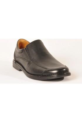 Dr.Flexer Erkek 061609 Comfort Ayakkabı Siyah Deri