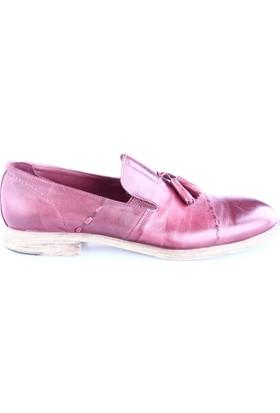 Luciano Bellini Erkek 14116 Soft Püsküllü Ayakkabı Bordo