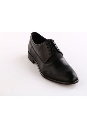 Luciano Bellini Erkek 150319 Microlite Klasik Ayakkabı Siyah