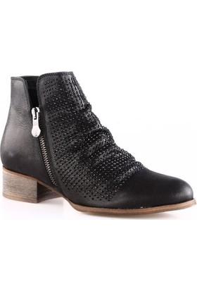 Venüs Kadın 1810603Y Bootie Ayakkabı Siyah