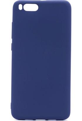 Gpack Xiaomi Mi Note 3 Silikon Premier Kılıf Lacivert + Ekran Koruyucu Cam