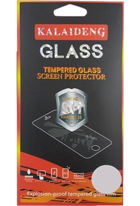 Gpack Samsung Galaxy C9 Pro Premier Silikon Kılıf Kırmızı + Ekran Koruyucu Cam + Kalem