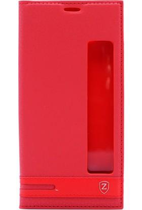 Gpack Huawei Mate 10 Pro Pencereli Elite Kılıf - Kırmızı