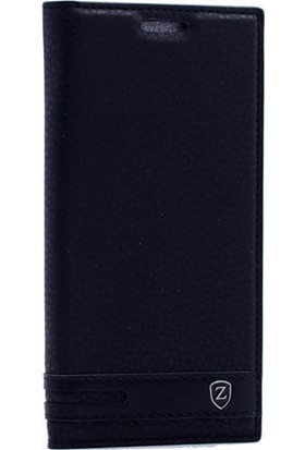 Gpack Asus Zenfone Live Elite Kapaklı Kılıf - Siyah