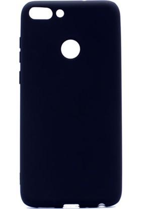 Gpack Huawei P Smart Premier Silikon Kılıf Siyah + Ekran Koruyucu Cam