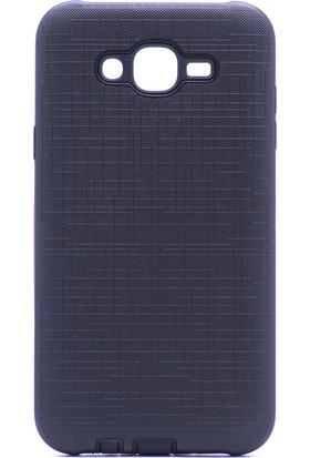 Gpack Samsung Galaxy J7 Core New Youyou Silikon Kılıf Siyah + Ekran Koruyucu Cam + Kalem