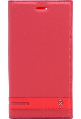 Gpack Xiaomi Redmi Note 5A Düz Elite Kılıf Kırmızı + Ekran Koruyucu Cam + Kalem