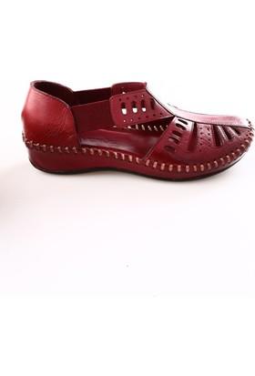Venüs Kadın 18793302 Sandalet Bordo