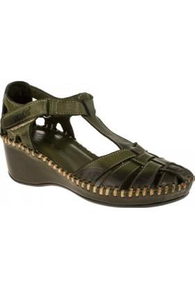 Venüs Kadın 18793505 Sandalet Yeşil