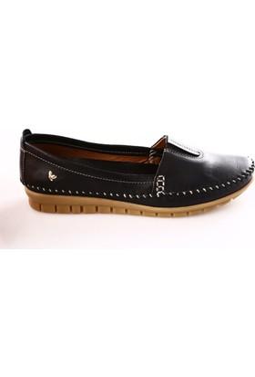İloz Kadın 240028 Saraçlı Günlük Ayakkabı Siyah