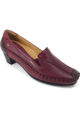 Forelli Kadın 33405 Rok Ayakkabı Bordo
