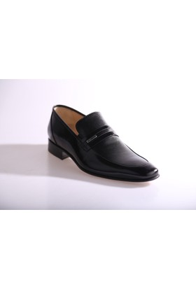 Nevzat Onay Erkek 3555 - 246 Kösele Taban Klasik Ayakkabı Siyah