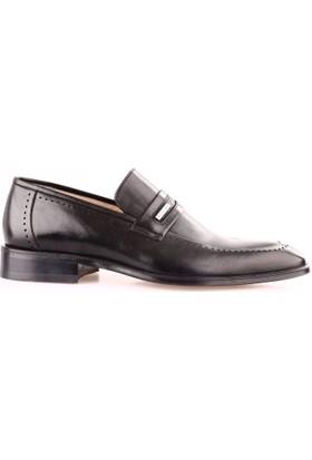 Nevzat Onay Erkek 422 - 223 Kösele Taban Klasik Ayakkabı Siyah