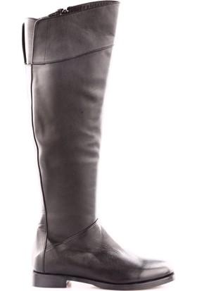 X-Trend Kadın 5026 Knee High Çizme Siyah