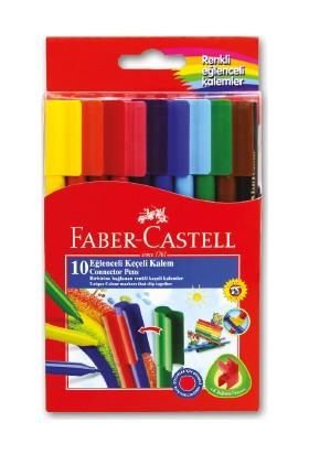 Faber-Castell Eğlenceli Keçeli Kalem,10'lu