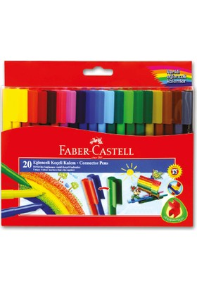 Faber-Castell Eğlenceli Keçeli Kalem 20'lu