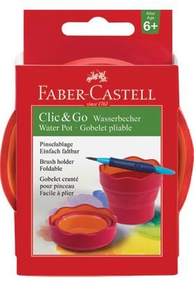 Faber-Castell Suluboya Suluğu Vişne