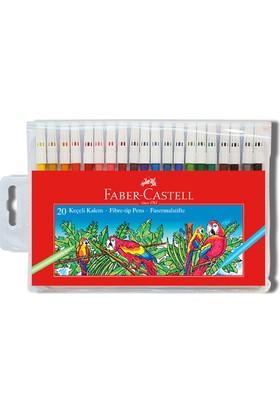Faber-Castell Keçeli Kalem 20'li Poşet