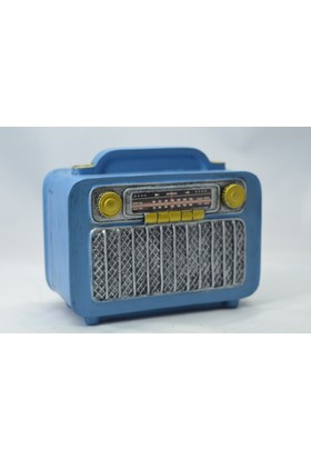 Gökçe Nostaljik Radyo Kumbara Mavi