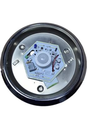 Mz Acil Kitli 360 Derece Hareket Sensörlü Modüler Mat Krom Tavan Armatürü