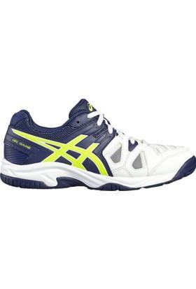 Asics Beyaz Genç Tenis Ayakkabı C502Y-0149