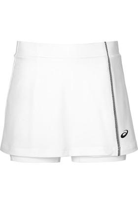 Asics Beyaz Kadın Tenis Etek 154422-0014